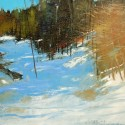 Winter Afternoon Near Shawville Quebec w 8x10