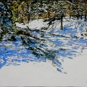 Winter slipping out of time again as the streams begin to open up 16x26